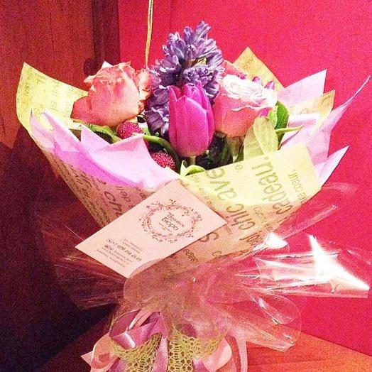 Букет SPRINGTIME: букеты цветов на заказ Flowwow