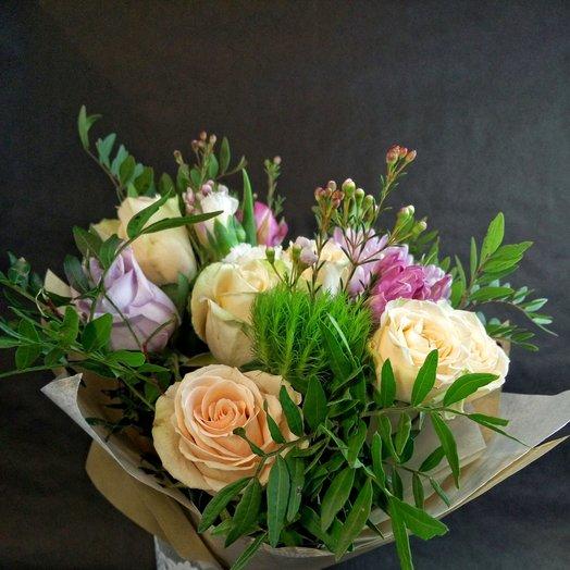 Прекрасный и нежный букет: букеты цветов на заказ Flowwow