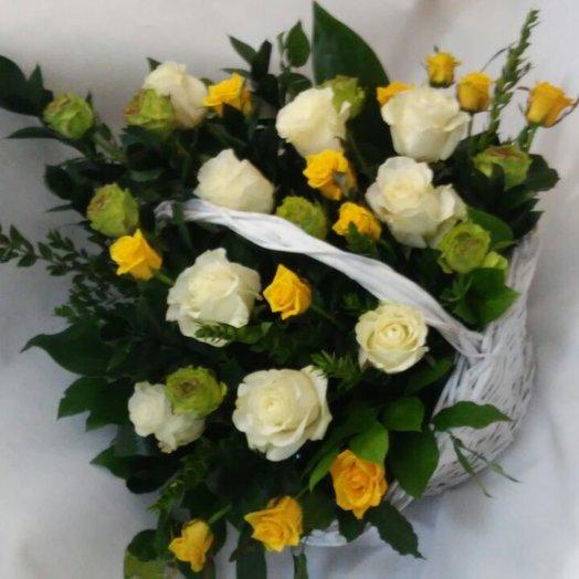 Каприз в корзине: букеты цветов на заказ Flowwow