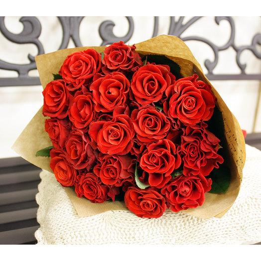 Букет 37 19 шт 50см: букеты цветов на заказ Flowwow