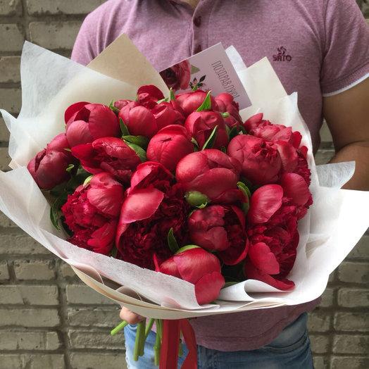 Лучшие Голландские пионы: букеты цветов на заказ Flowwow