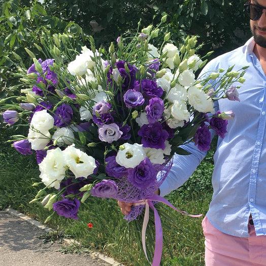 Букет эустомы : букеты цветов на заказ Flowwow