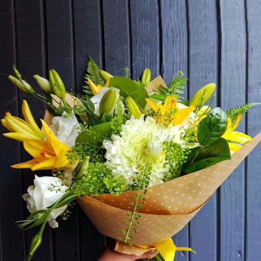 Солнечный день (Букет 53): букеты цветов на заказ Flowwow
