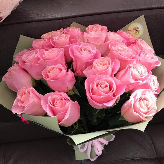 Акция. 25 роз 60 см.: букеты цветов на заказ Flowwow