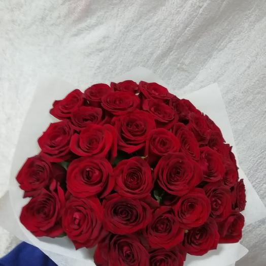 Rose red 35: flowers to order Flowwow