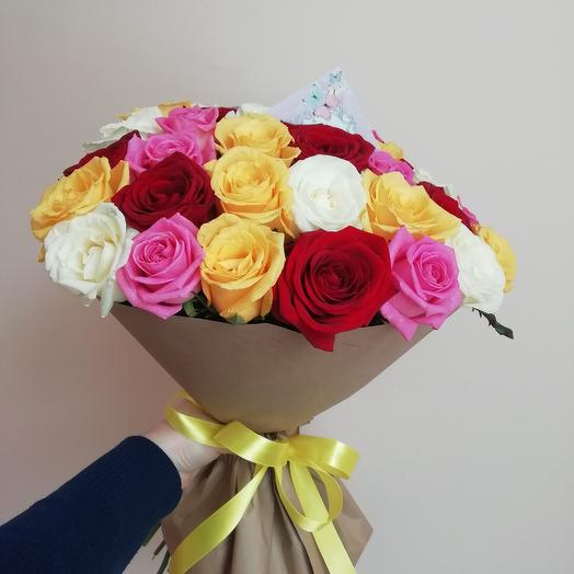 Rose mix: flowers to order Flowwow