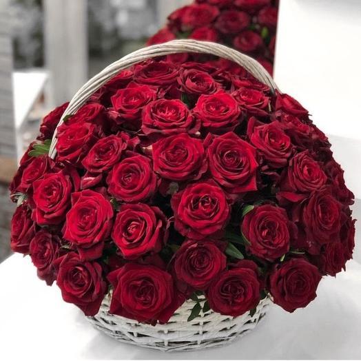 "Цветочная композиция ""Символ любви"": букеты цветов на заказ Flowwow"