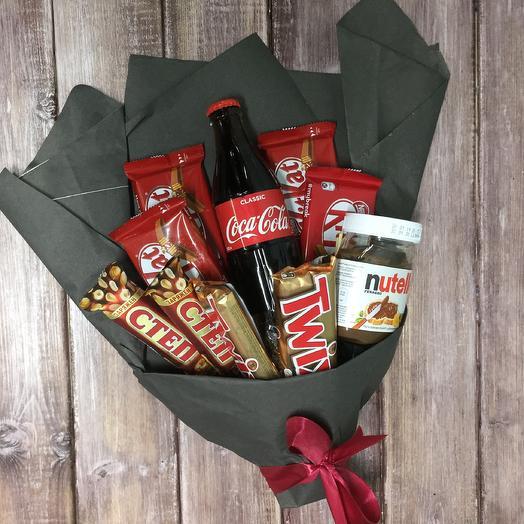 Nutella: букеты цветов на заказ Flowwow