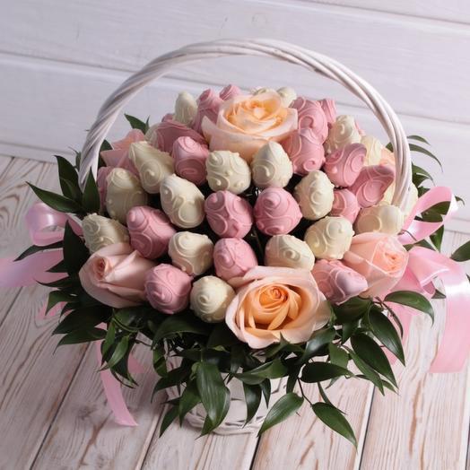 """""""Нежность"""" в корзине: букеты цветов на заказ Flowwow"""