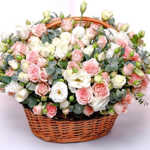Gentle basket: flowers to order Flowwow