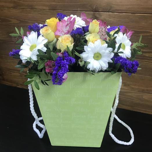 Композиция весенняя: букеты цветов на заказ Flowwow