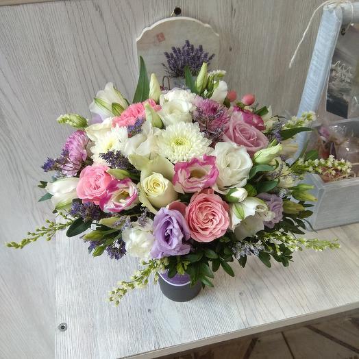 Цветочный коктейль Прованс: букеты цветов на заказ Flowwow