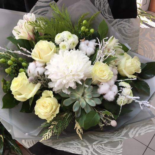Жемчужная улыбка: букеты цветов на заказ Flowwow