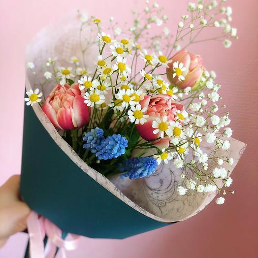 Букет 163: букеты цветов на заказ Flowwow