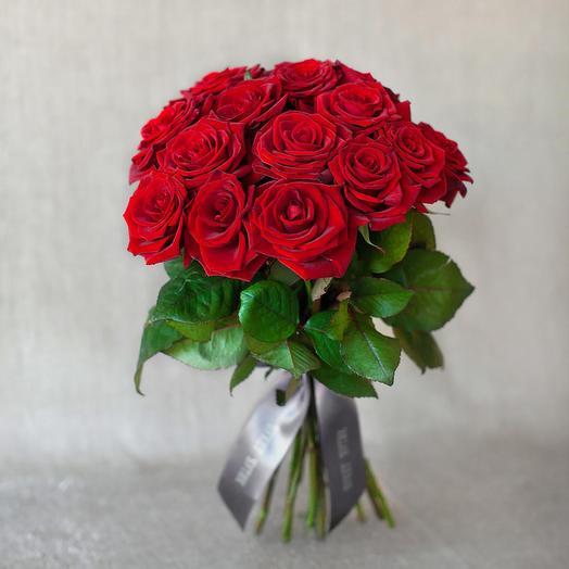 "Моно-букет из роз ""Лондон"": букеты цветов на заказ Flowwow"