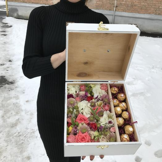 Премиум подарок: букеты цветов на заказ Flowwow