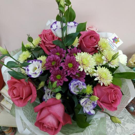 Ягодно- малиновый сюрприз: букеты цветов на заказ Flowwow