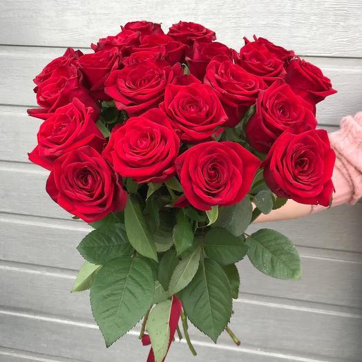 """Букет из 21  Роз """" Страсть"""": букеты цветов на заказ Flowwow"""