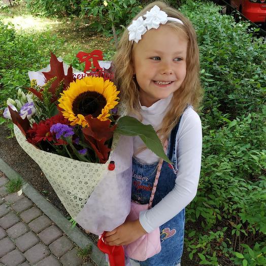 """Букет ,, Здравствуй,школа"""": букеты цветов на заказ Flowwow"""