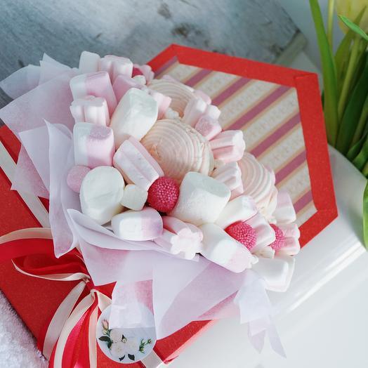 Конверт со сладостями: букеты цветов на заказ Flowwow