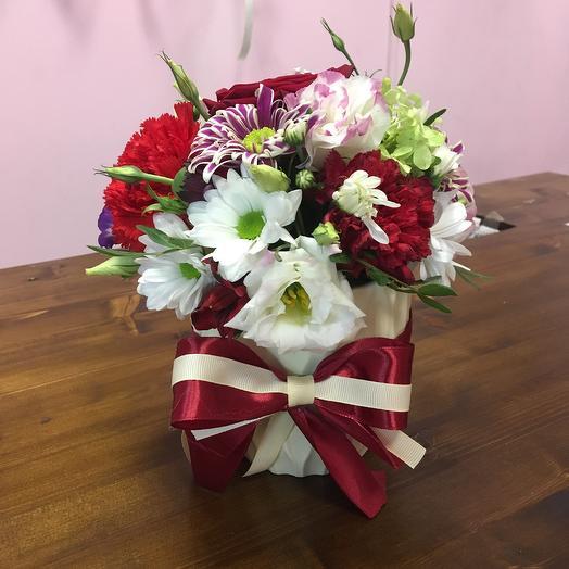 Цветочная плошка «Эстетик»: букеты цветов на заказ Flowwow