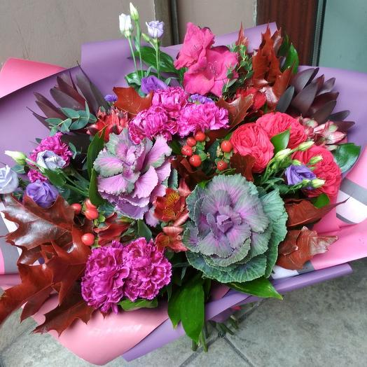 Лиловый закат: букеты цветов на заказ Flowwow