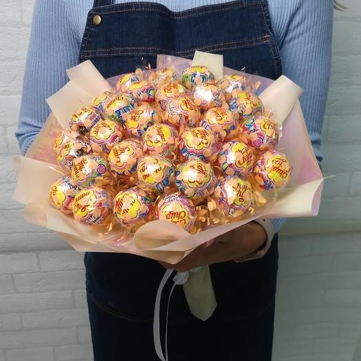 Чупа-букет 💐: букеты цветов на заказ Flowwow