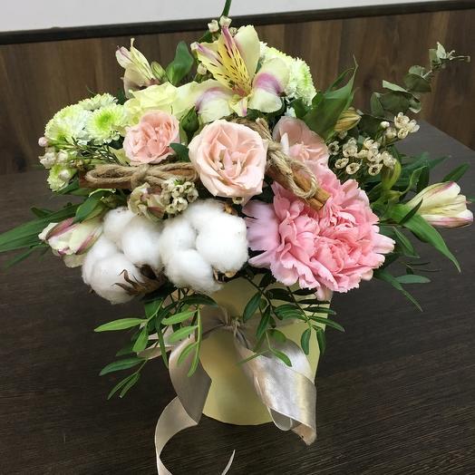 Композиция «Романтический вечер»: букеты цветов на заказ Flowwow