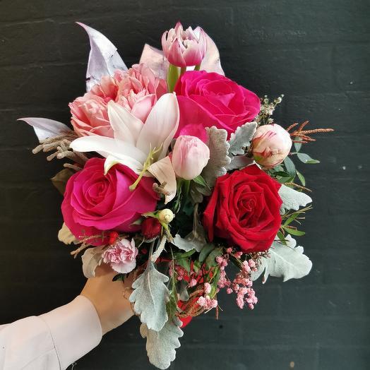 Красотка 💗: букеты цветов на заказ Flowwow