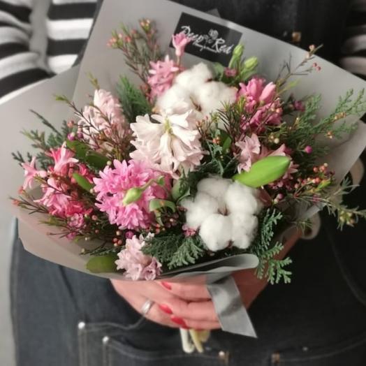 Мимимишка гиацинт: букеты цветов на заказ Flowwow