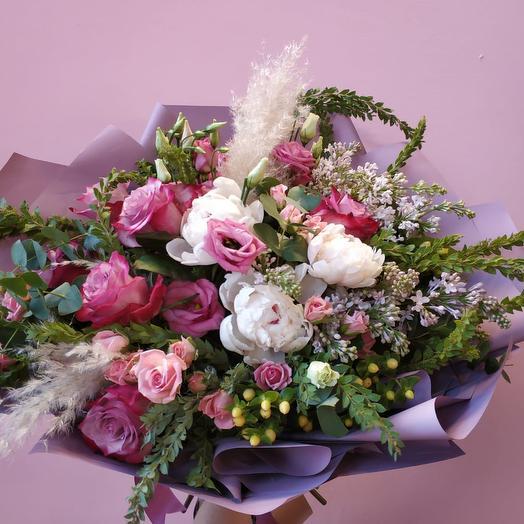 Авторский букет «Santana»: букеты цветов на заказ Flowwow