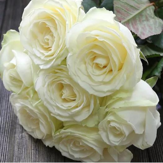 Роза из белой розы