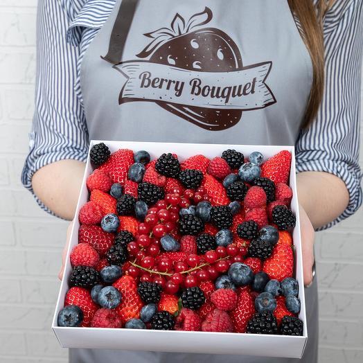 Набор микс свежие ягоды