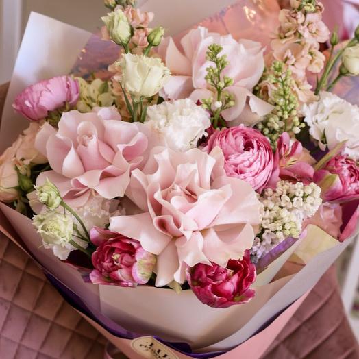 Французский завтрак: букеты цветов на заказ Flowwow