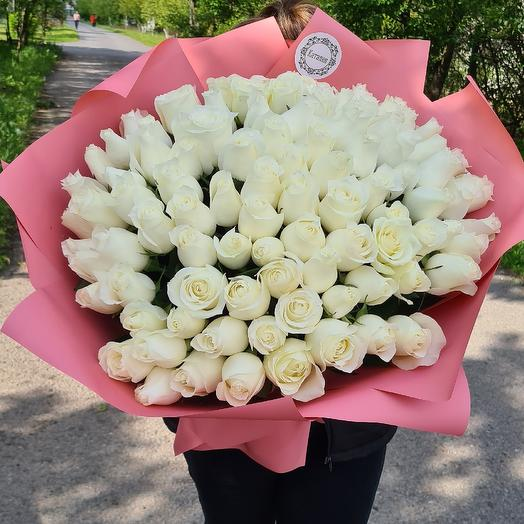 101 шикарная роза