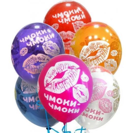 7 гелиевых шаров