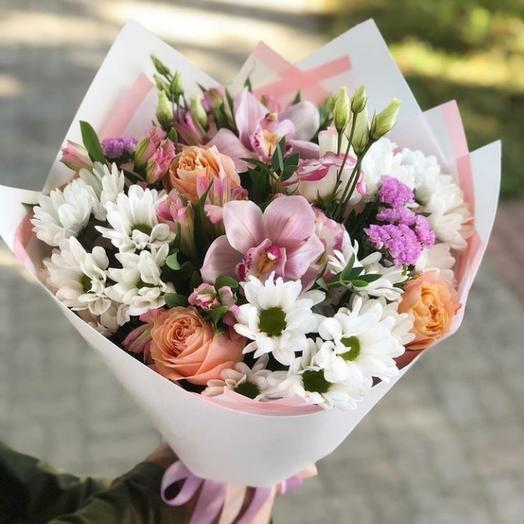 Букет Кружевные цветы