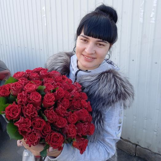 51 червона троянда Ель Торро