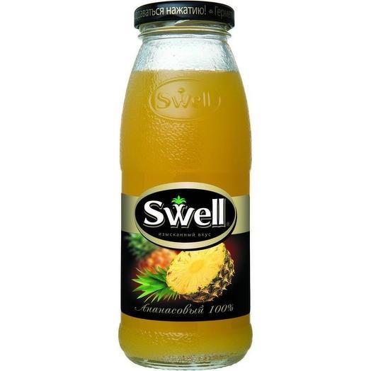 Сок ананасовый Свелл 250 мл