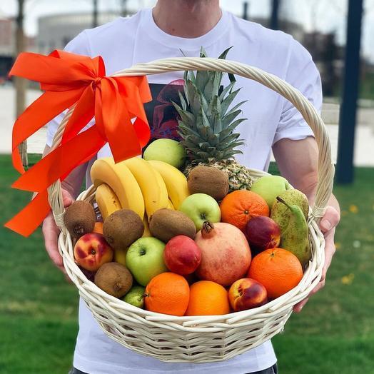 Корзина с фруктами L