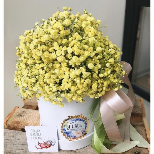 Цветы в коробке Солнышко