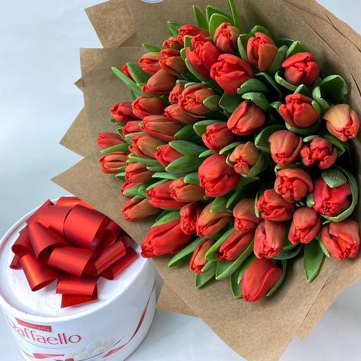 Потрясающие тюльпаны в наборе на 8Марта
