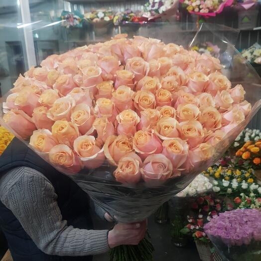 Эквадор роза 80см