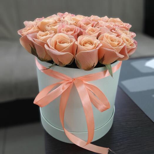Цветы в коробке😚