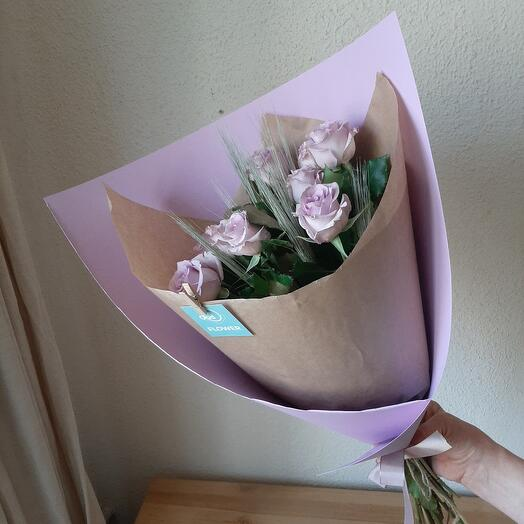 Розы лиловые Dream Violet