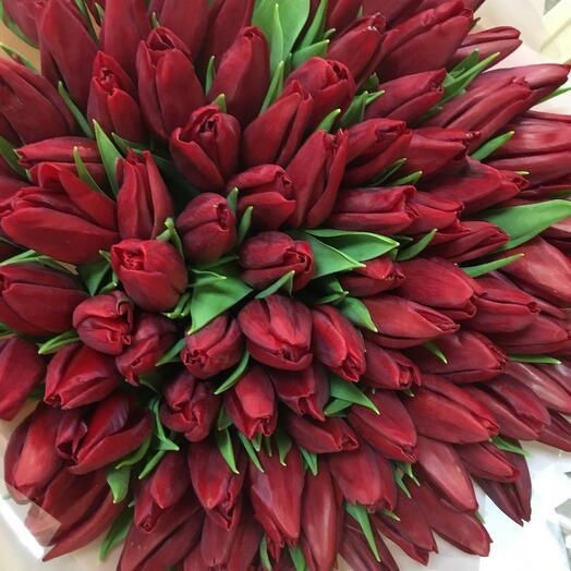 Букет тюльпан
