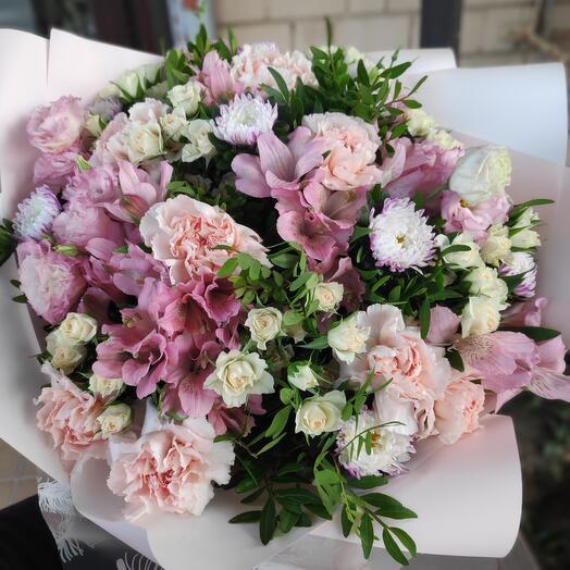 Букет цветов Мимишный