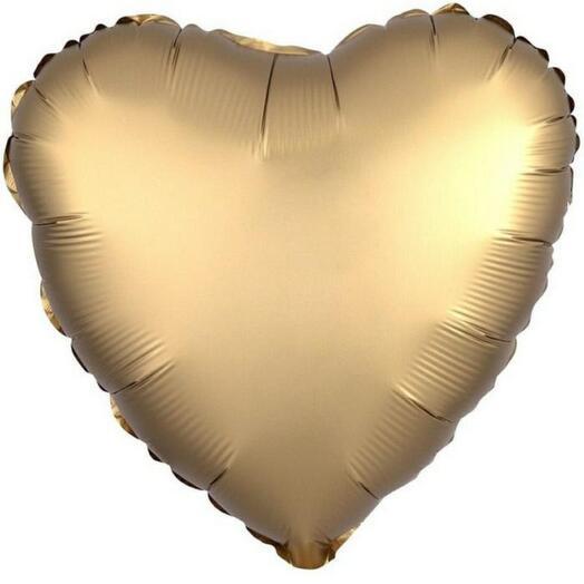 Золотое сердце (воздушный шар)