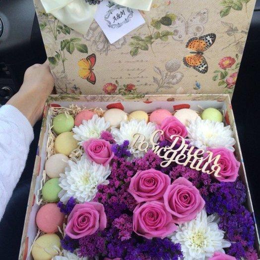 Поздавляем с ДР: букеты цветов на заказ Flowwow