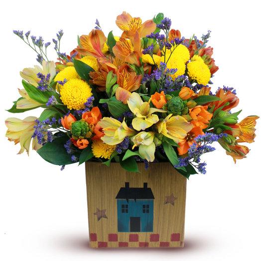 Игривая барышня: букеты цветов на заказ Flowwow